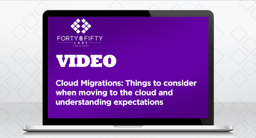 Cloud Migration: Things to consider when moving to the cloud and understanding expectations